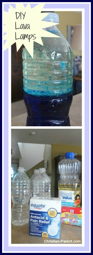 homemade lava lamp