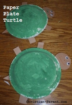 Tissue Paper and Paper Plate Turtle Craft | 362x248